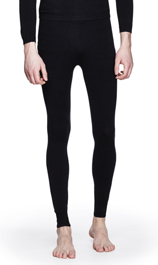 SEAMLESS COTTON LEGGINGS